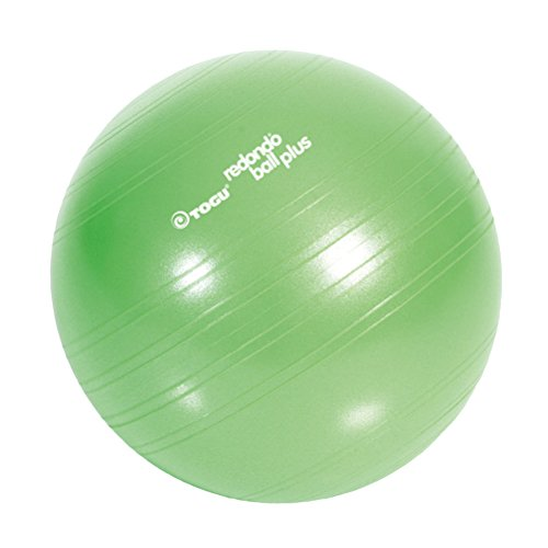 Togu Plus Das Original Gymnastikball Pilates Ball Trainingsball Übungsball, grün, 38 cm Durchmesser