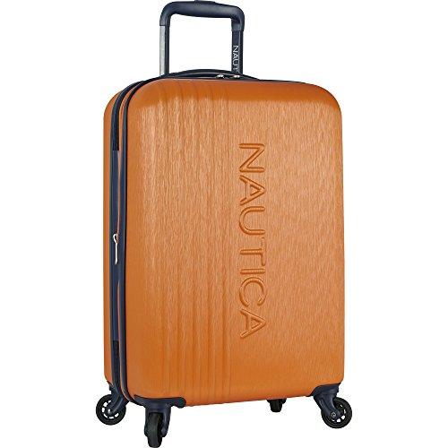 Nautica Ahoy Hardside Expandable 4-Wheeled Luggage, Orange
