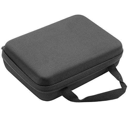 vhbw Tasche Hülle Case passend für Bose Soundlink Mini, Mini 2 Bluetooth Lautsprecher Box schwarz weiches Innenfutter