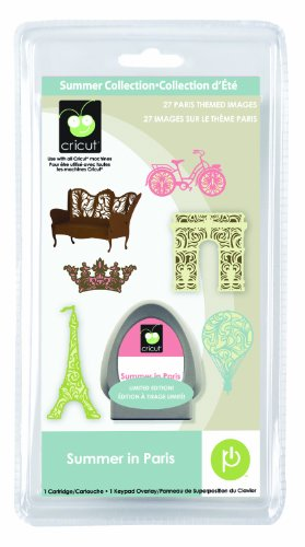 Cricut Seasonal Cartridge, Summer in Paris