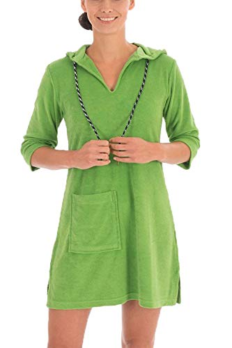 WeWo fashion Damen Badekleid 036 grasgrün, XS