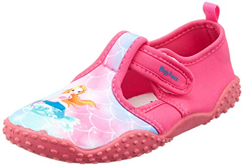 Playshoes Unisex-Kinder UV-Schutz Badeschuhe Meerjungfrau Aqua Schuhe, Pink (Pink 18), 18/19 EU