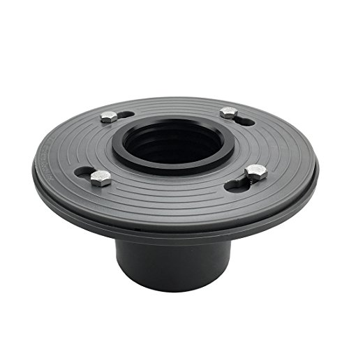 Neodrain 2-Inch PVC Sub Drain, Shower Drain Base, No Hub Shower Drain Base with Rubber Gasket for 2 inch Linear