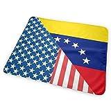 Cambiador de banderas estadounidenses y venezuelas, impermeable, reutilizable, grande cambiador para cambiar pañales, funda de colchón para niños y niñas recién nacidos (25,5 x 31,5 pulgadas)