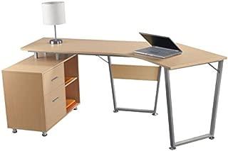 OfficeMax Brent Dog-Leg Desk OM05012