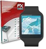 atFoliX Película Protectora Compatible con Sony SmartWatch 3 Protector Película, Ultra Claro y...