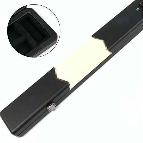 Funky Chalk Black And White 3/4 Pool Snooker Cue Case, Stecca da Biliardo Professionale di Alta qualità, Colore: Bianco e Nero Unisex-Adulto