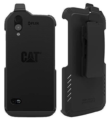 Wireless Protech CAT S61 Schutzhülle mit Clip für Caterpillar CAT S61