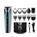 NOVA NG 1152 Cordless Rechargeable: 60 Minutes Runtime Multi Grooming Trimmer for Men (Blue)