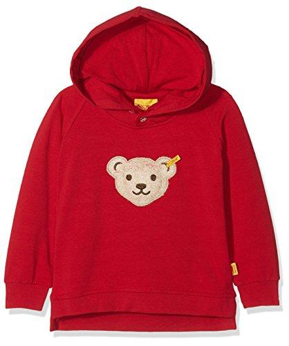 Steiff Baby-Jungen 1/1 Arm Sweatshirt, Rot (Jester red|red 2120), 68