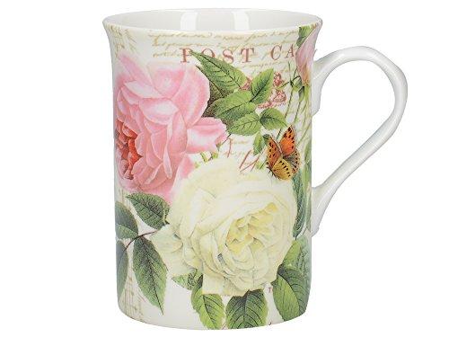 Creative Tops Rose Garden Tasse aus edlem Porzellan, in Geschenkbox, 235 ml (8 fl oz)