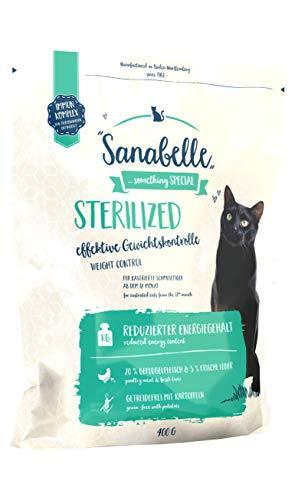 Comida para gatos Sterilized de Sanabelle, 400 g