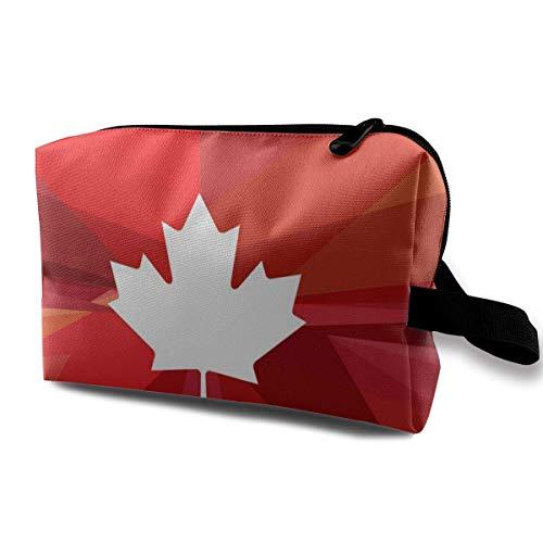 Hdadwy ¡Gloria Canadá! Eh Canada Day Makeup Bag Bolsa organizadora de cosméticos...
