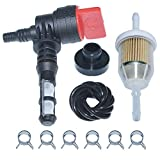 AUMEL 192980GS Fuel Shut Off Valve Fuel Tank Bushing W/Fuel Filter Kit Fit Briggs and Stratton 78299GS 80270GS...