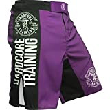 Hardcore Training Recruit Fight Shorts Hombre Pantalones Cortos MMA BJJ Boxeo Grappling...