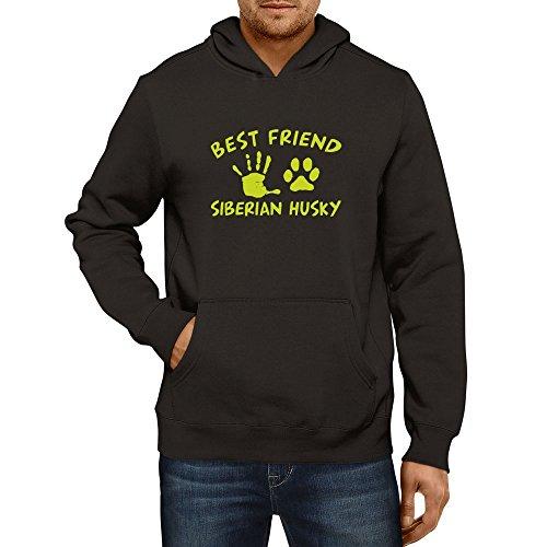Idakoos - MY BEST FRIEND IS MY Siberian Husky - Dogs - Hoodie - http://coolthings.us