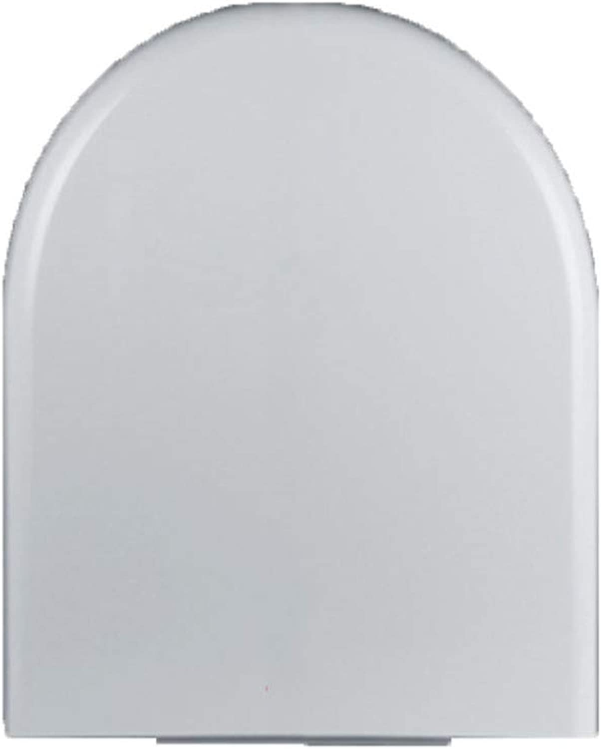 O, U, V Type Universal White PP Buffer Mute Thickening Toilet Seat Old-fashioned Cover Fittings Antibacterial Easy To Clean Antistatic Dustproof,D