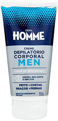Creme Depilatório Masculino, Depil Homme, 150G