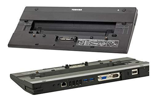 Toshiba PA3916E-1PRP Dockingstation Replikator für Tecra R840 - R850 - R940 - R950 - Portege R700 - R830 - R930
