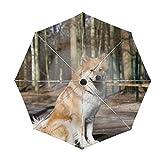 折りたたみ傘 Sweet Dog Pet 日傘 晴雨兼用 遮光 遮熱 UPF50 UV 紫外線 99% カット 大型 88cm レディース 8本骨