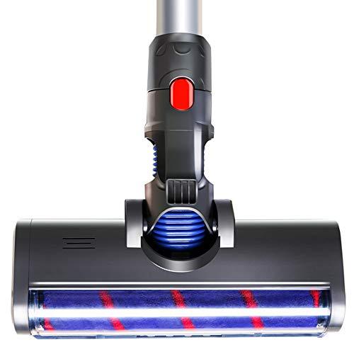 Zealing Adecuado para Dyson aspiradora accesorios V7 V8 V10 V11 suave terciopelo eléctrico piso cepillo alfombra azulejo succión cabeza