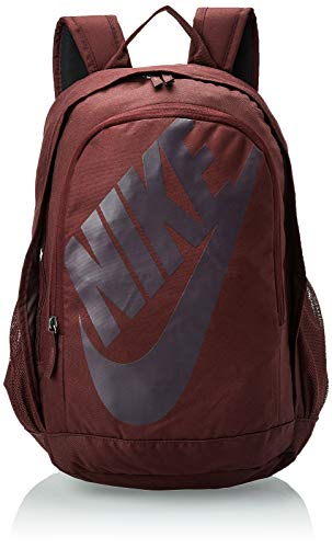 Nike NK HAYWARD FUTURA BKPK - SOLID, Unisex-Erwachsene Rucksack, Mehrfarbig (Brgndcrsh/Brgndash), 24x36x45 cm (W x H L)