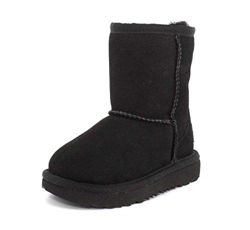 UGG Kid's Female Classic II Classic Boot, Black, 8 (UK)
