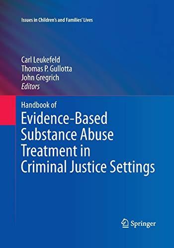 Handbook of Evidence-Based Substanc…