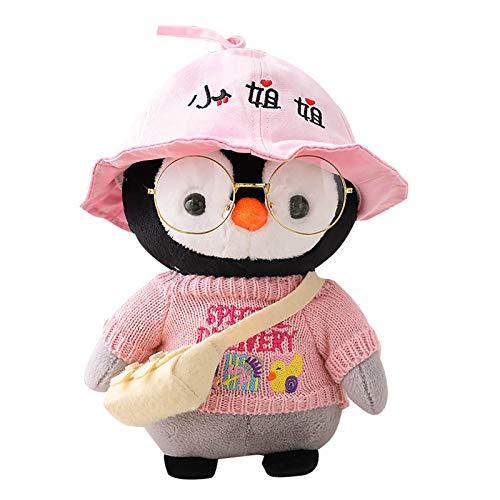 Puppe Pinguinpuppe Spielzeug Nettes Cartoon Pinguin Cosplay Dress Up Plüsch Baby Spielzeug Gefüllte Puppe Geburtstagsgeschenk