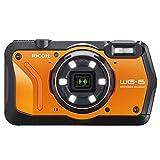 "Ricoh WG-6 Fotocamera compatta 20 MP CMOS 3840 x 2160 Pixel 1/2.3"" Nero, Arancione"