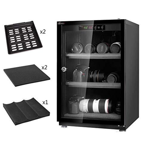 LXDDP Gabinete seco electrónico Profesional, Caja deshumidificadora para Lentes cámara SLR y...