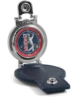 Colibri of London Silver Leather PGA Tour Pocket Watch