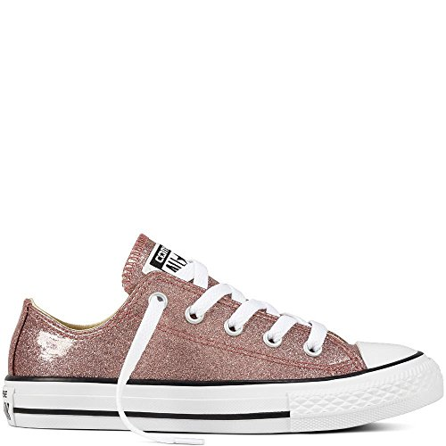 Converse Unisex-Erwachsene Chuck Taylor CTAS Ox Synthetic Fitnessschuhe, Pink (Rose Gold/Natural/White 688), 38/39 EU