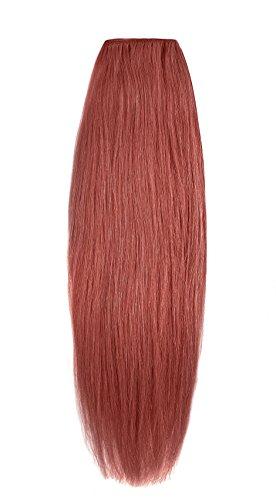 American Dream original de qualité 100% cheveux humains 40,6 cm soyeuse droite trame Couleur 135 – Cuivre Profond Rouille
