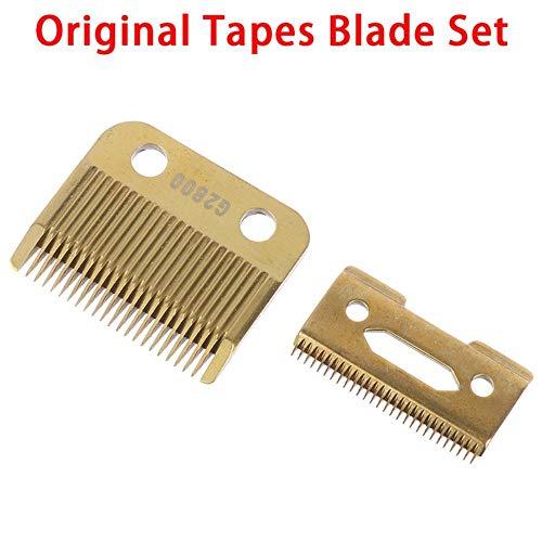 Yukie Lame Mobile tête Professionnelle de Coupe de Lame de Tondeuse à Cheveux Remplacer Le Plancher métallique Clipper Accessoires d'or Lame