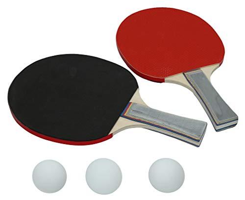 CB-54047 Juego Ping-Pon 2 Raquetas+Pelotas, Multicolor (54047)