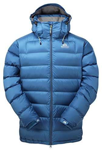 Mountain Equipment Herren Lightline Daunenjacke, Lagoon Blue, XL