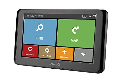 Mio Spirit 8500 Full Europe - Navigatore GPS per Auto con Mappe...