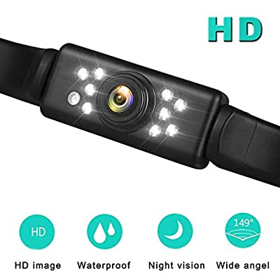 Car Rear View Backup Camera - Auto License Plat...