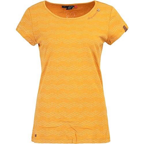Ragwear Mint Zig Zag Women Shirt (M, Curry)