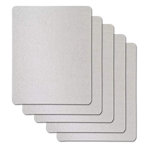 VINFANY Wellenleiter-Abdeckung, universelles Mica-Blatt für alle Mikrowellen, zuschneidbar, 15 cm x 12 cm, 20 Stück