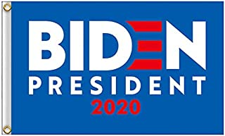 Faylagee-yx Joe Biden Flag - Biden 2020 Flags is Designed with Biden's The Newest Logo Use Classic American Flags Colors i...