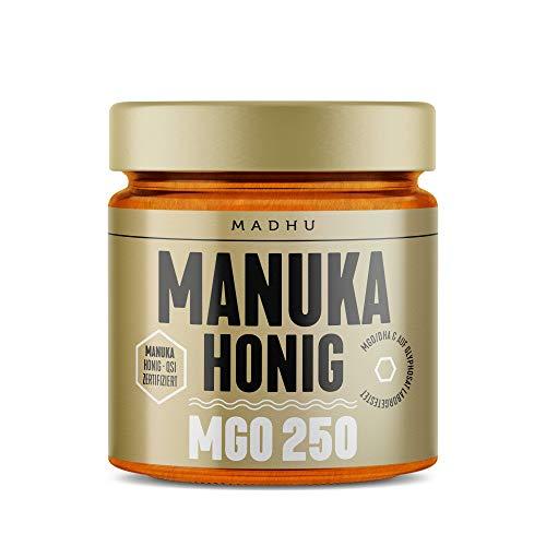 Manuka Honig 250+ MGO im hochwertigen Glas - Direkt vom Imker aus...