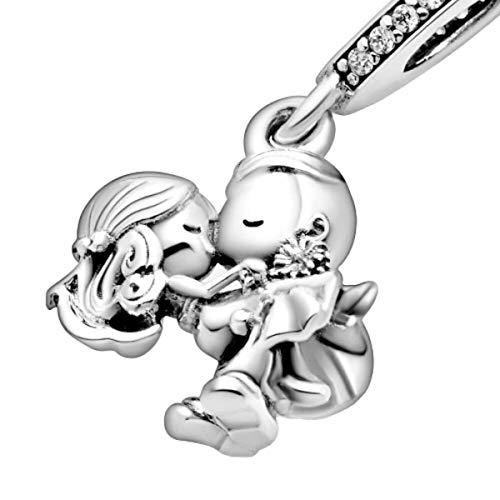 Married Couple - Boy Teenager - Girl Teenager - Nan Grandma - Little Girl Jewellery - Little Boy Charms - Sterling Silver 925 Bracelet Jewellery For Women girls bracelet - Married Couple