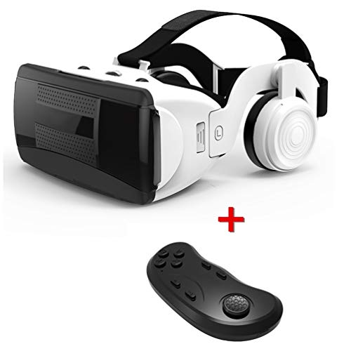 Great Deal! ZC Dawn VR Headset with Headphones and Controller, Vr Gaming Headset Compatible with iPh...