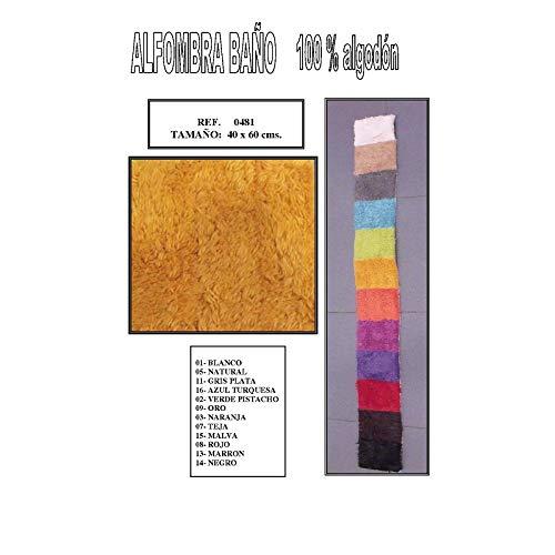 Duffi Home Alfombra, Negro, 100 x 1 cm