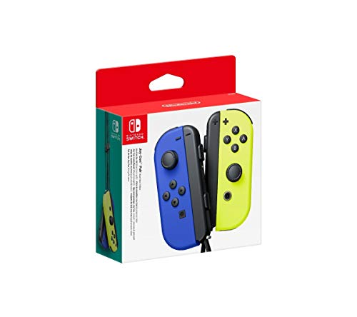 Nintendo Comando Joy-Con Pair Azul/Yellow Neon