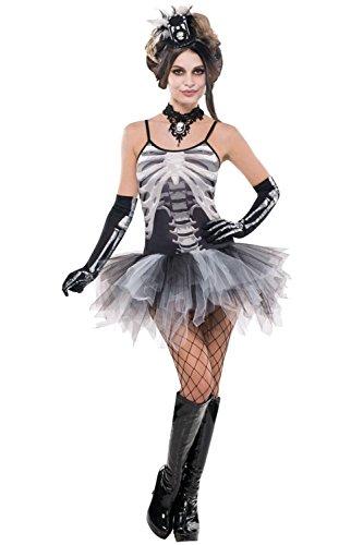 Generique - Costume Scheletro Sexy Donna Medium