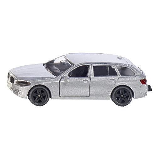 SIKU 1459, BMW 520i Touring, Metall/Kunststoff, Silber, Öffenbare Türen, Spielzeugauto für Kinder