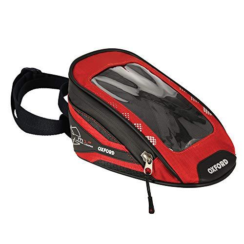 Oxford Motorrad Micro Tank Bag, medium, red